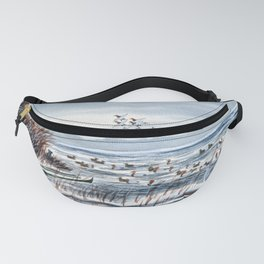 Duck Hunting For Canvasbacks Fanny Pack