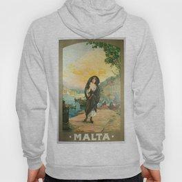 Vintage poster - Malta Hoody