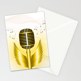 Soaring music Stationery Cards