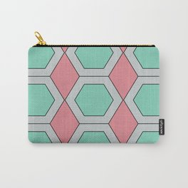 Pastel Geo Carry-All Pouch