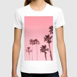 Tranquillity - flamingo pink T-shirt