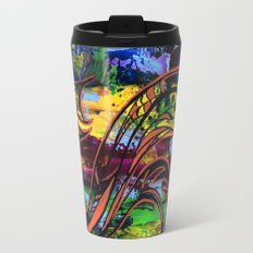 Copper lines Travel Mug