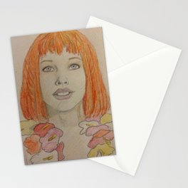 Leeloo Dallas Multi-Pass Stationery Cards