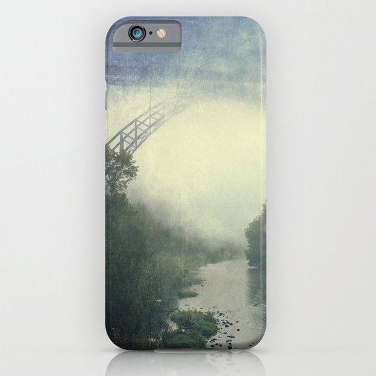 Bridge - River - Fog iPhone & iPod Case