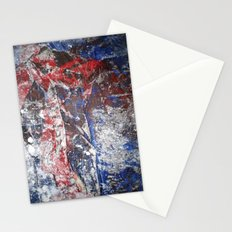 SupermanAbstract Stationery Cards