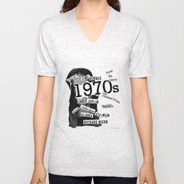 Misanthrope 70's Shirt Unisex V-Neck