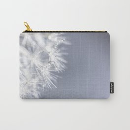 Sparkling dandelion with droplets - Flower water Carry-All Pouch