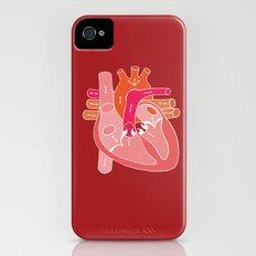 Heart Diagram iPhone (4, 4s) Slim Case