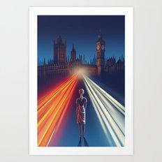 First Traffic Art Print