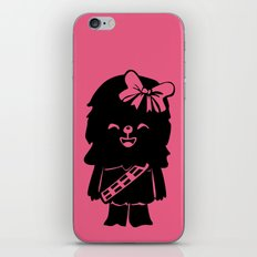 Baby Girl Wookie in Pink Graphic iPhone & iPod Skin