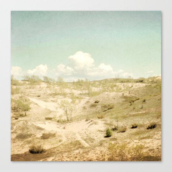 The Beginning Sleeping Bear Sand Dunes Canvas Print