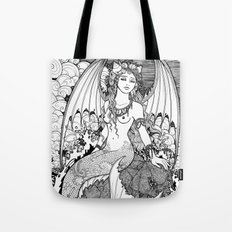 The Sea is a Lonely Place Ink Tote Bag
