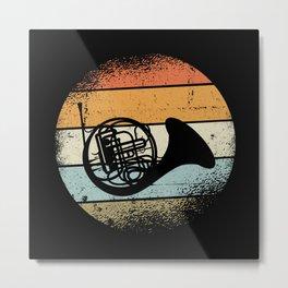 Horn Metal Print