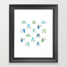 Moods Framed Art Print