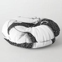 asc 803 - La prime de libération (Released with a bond) Floor Pillow