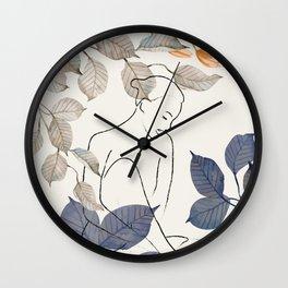 Peace in the Shade 03 Wall Clock