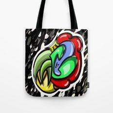 Digital Abstract Graffiti #4 Tote Bag