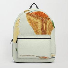 Grilled Cheese Mandala Backpack