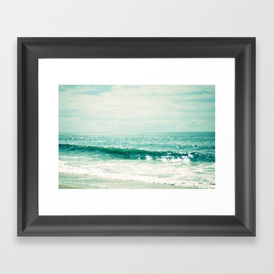 Sea of Tranquility... Framed Art Print