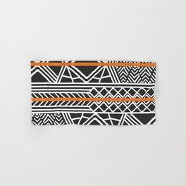 Tribal ethnic geometric pattern 022 Hand & Bath Towel