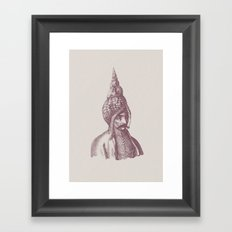 Haute Coiffure  /#1 Framed Art Print
