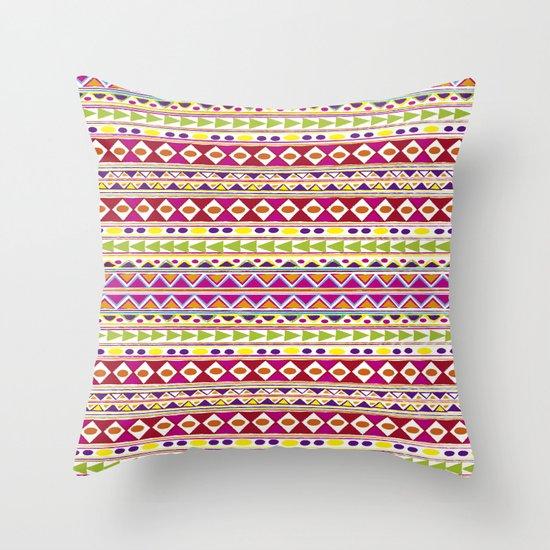 TRIBALFEST Throw Pillow
