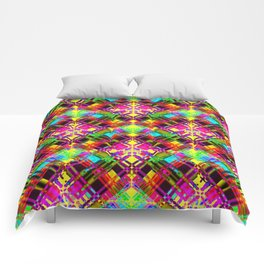 Abstract FF Z Comforters