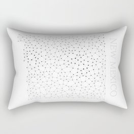 New Mexico LineCity W Rectangular Pillow