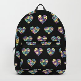 patchwork hearts Backpack