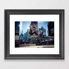 Air Time Framed Art Print