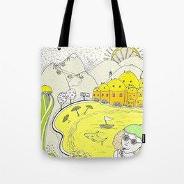 Lemon paradise Tote Bag