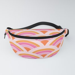 Rainbow connection - tangerine Fanny Pack