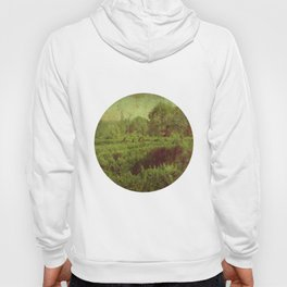 vintage romantic old landscape photography Hoody