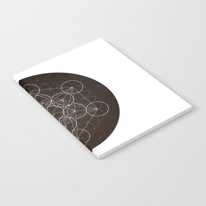 Metatrons Cube Is Out Of Space Notebook