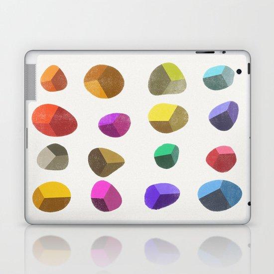 Painted Pebbles 2 Laptop & iPad Skin