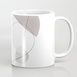 Abstraction with gray lines 3 Coffee Mug