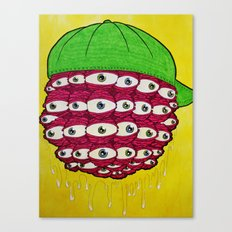 Eyebawler Canvas Print