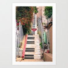 Piano <3 Staircase Art Print