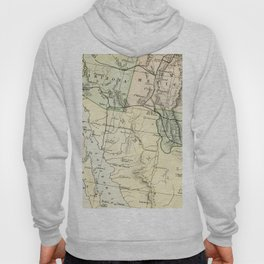 Vintage Map of the South West Of The United States Hoody