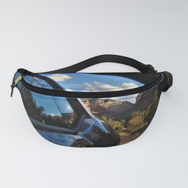 Looking Back on Enchanted Sedona Memories by Reay of Light Fanny Pack