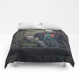 The Jokers in color Comforters