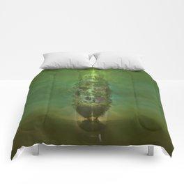 Big Green Tree of Life Comforters