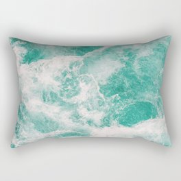 Whitewater 1 Rectangular Pillow