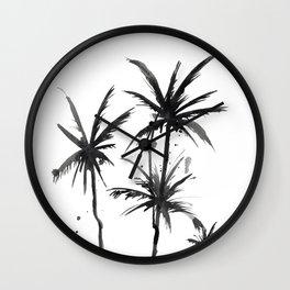 Paradis Noir VI Wall Clock