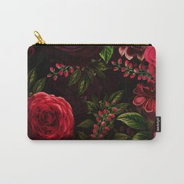 Mystical Night Roses Carry-All Pouch