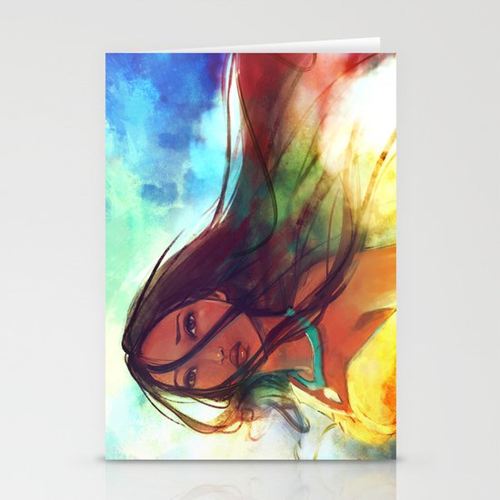 The Wind... Stationery Cards