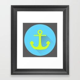 Drop The Anchor Framed Art Print