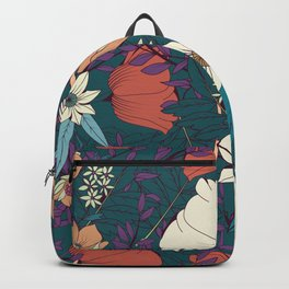 Botanical pattern 008 Backpack