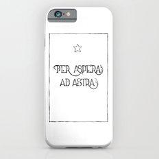 Per Aspera Ad Astra iPhone 6s Slim Case