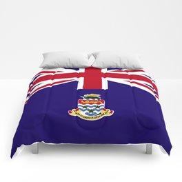 Cayman Island flag emblem Comforters